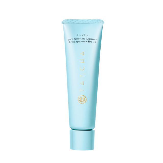 Tatcha Silken Pore Perfecting Sunscreen  - Beauty Routine