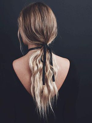 "We Found the Best ""Dirty Hair"" Hairstyles on Pinterest"