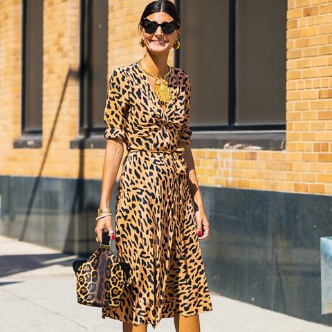How to wear leopard print: Leopard print looks incredible with more leopard print