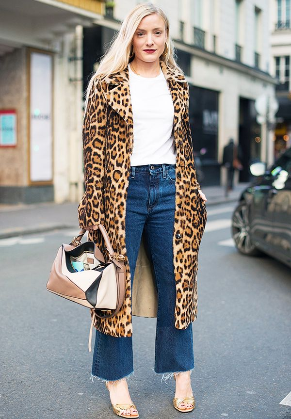 How to wear leopard print: Never forget that leopard print looks incredible with denim