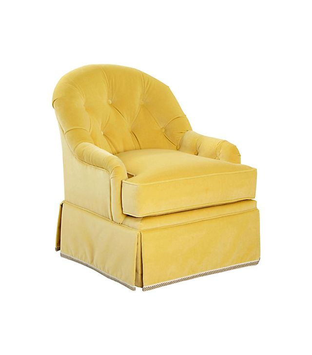 One Kings Lane Collection Marlowe Swivel Chair