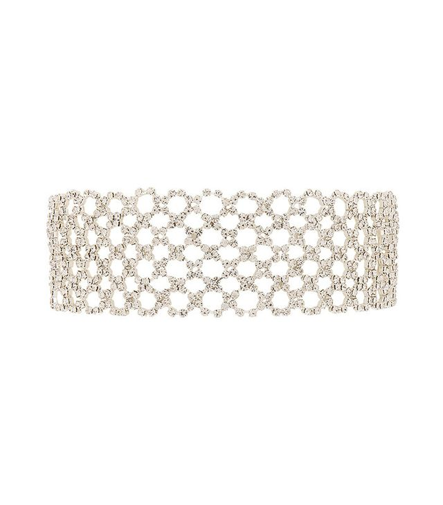best crystal choker necklace - 8 Other Reasons Crossed Choker
