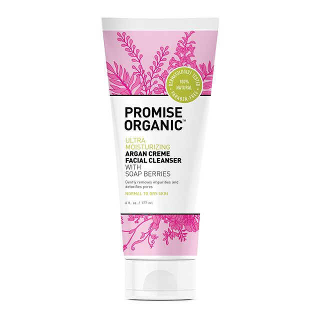 Promise Organic Ultra Moisturizing Argan Creme Face Cleanser