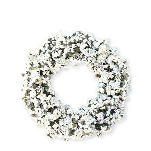 White Statice Wreath