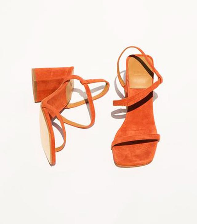 Loq orange sandals