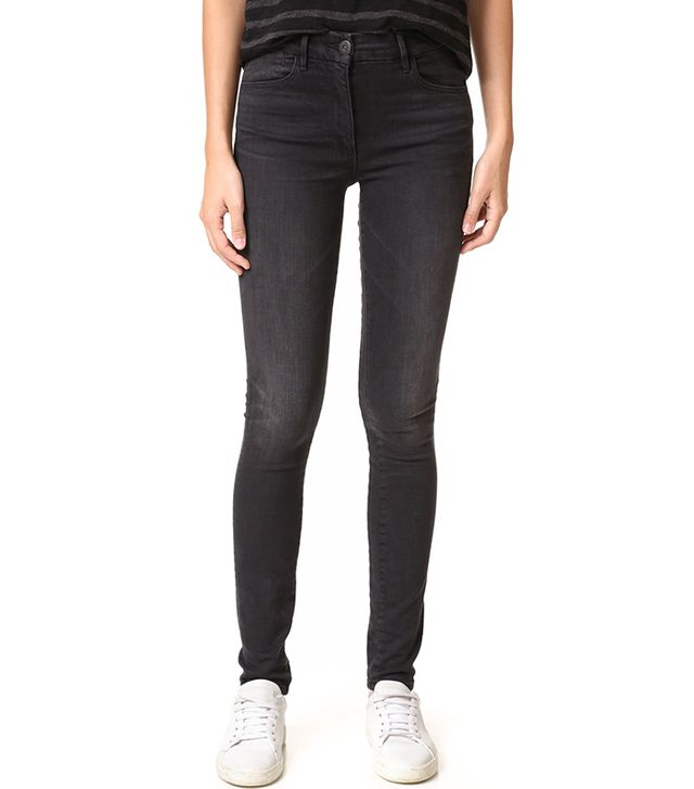 3x1 W3 Channel Seam High Rise Skinny Jeans