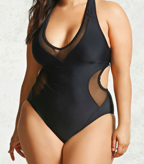 Forever 21 One-Piece Swimsuit