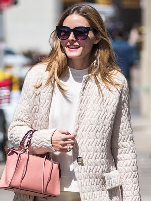 If Olivia Palermo Can Wear Sneakers With This Outfit, So Can You