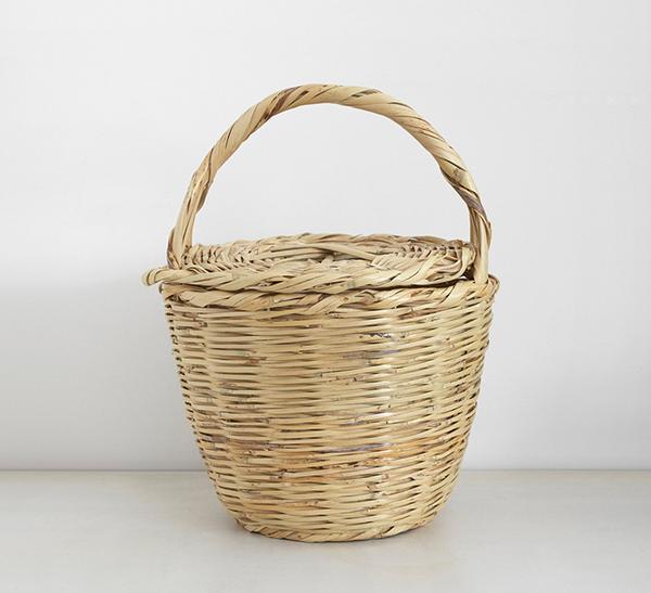 summer basket bag - Blooming Dreamer Birkin Basket