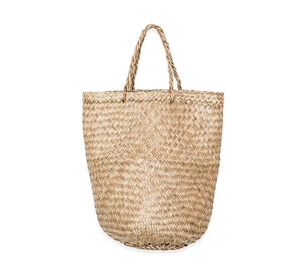 summer basket bag - Doen Market Carry-All Basket