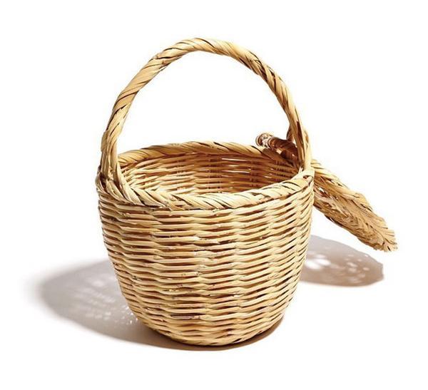 summer basket bag - Little Doe Praia Basket