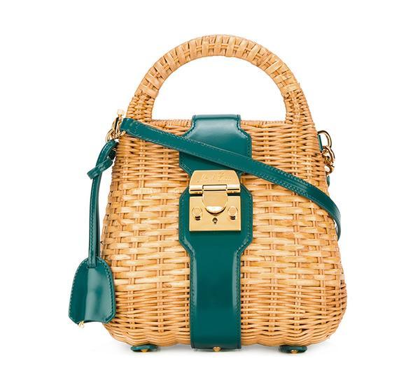 summer basket bag - Mark Cross Mini Manray Satchel