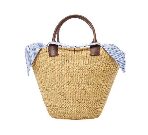 summer basket bag - Muun Kyoto William Straw Tote