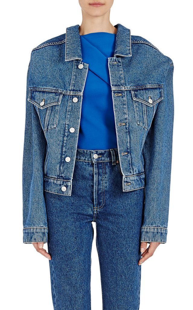 oversize jean jacket - Balenciaga Denim Jacket