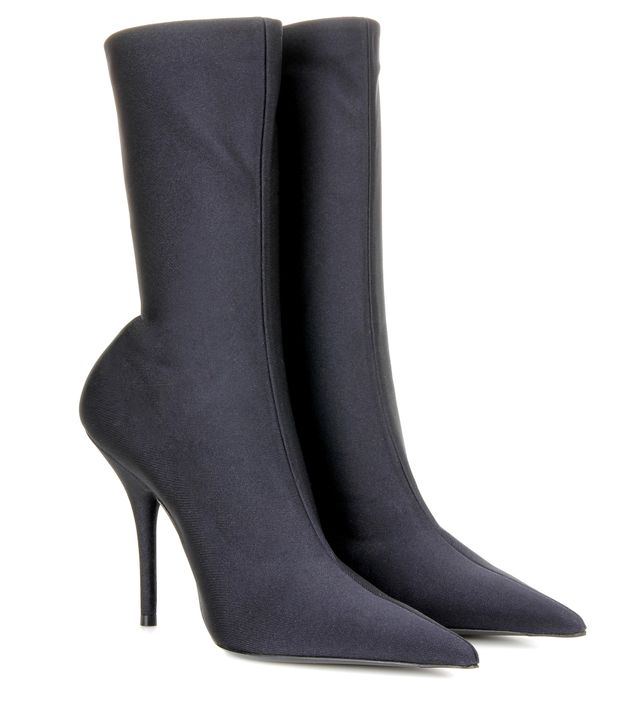 stretch pointy toe boots - Balenciaga Knife Ankle Boots