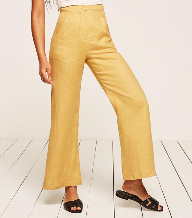 best reformation pants