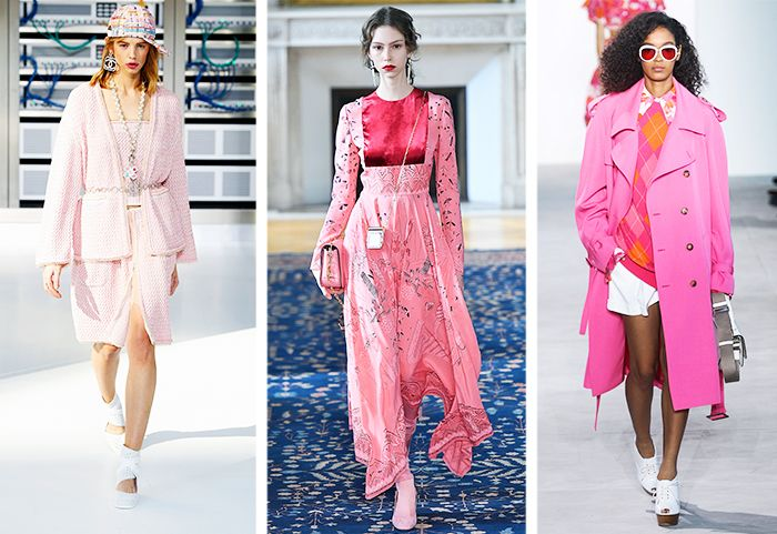 Pink Trend: Chanel, Valentino and Michael Kors Spring/Summer 2017