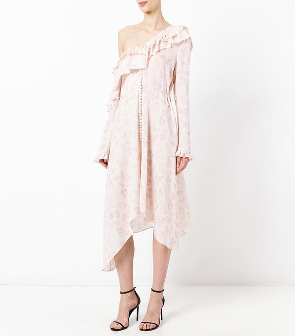 Pink Trend: Magda Butrym Saragrossa Dress