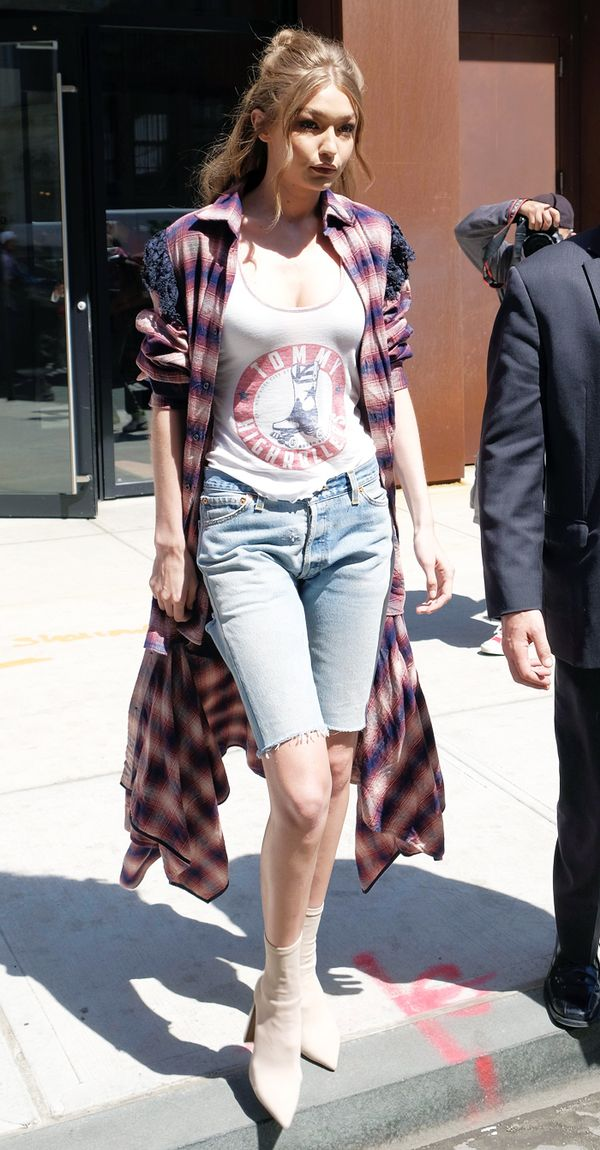 Worst fashion trends: Gigi Hadid jorts