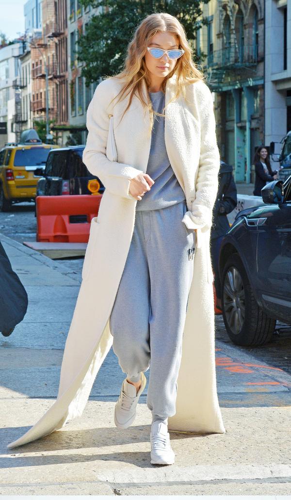 Worst fashion trends: Gigi Hadid tracksuit