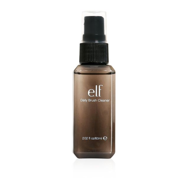How to clean make-up brushes: e.l.f. Studio Daily Brush Cleaner