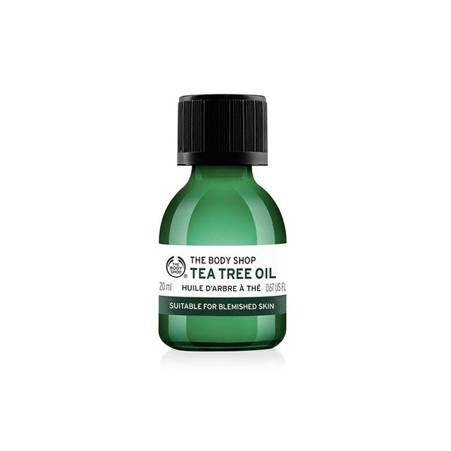 How to clean make-up brushes: The Body Shop Tea Tree Oil