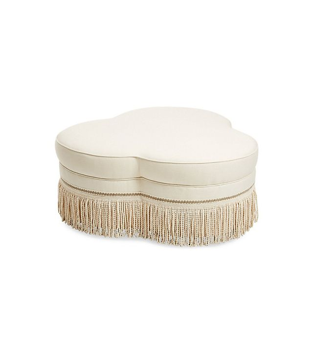 Traditional Décor Ideas — Fringe Ottoman