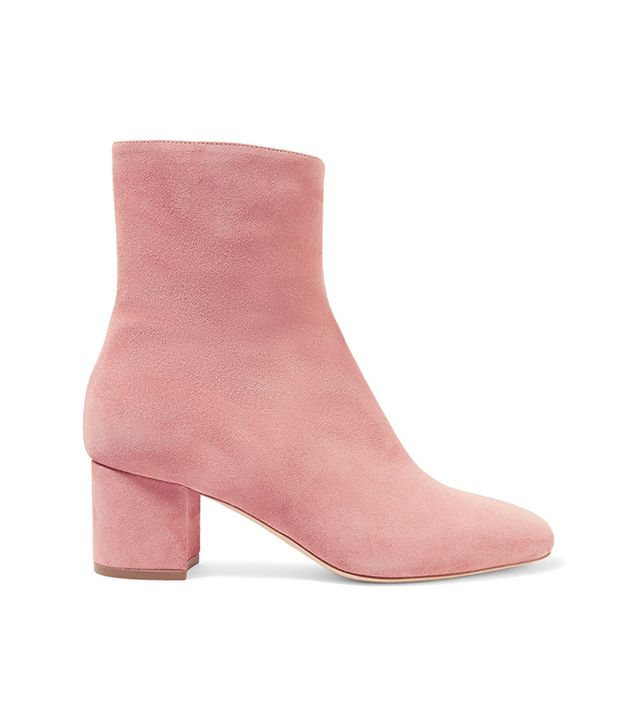 best pink ankle boots: Brother Vellies