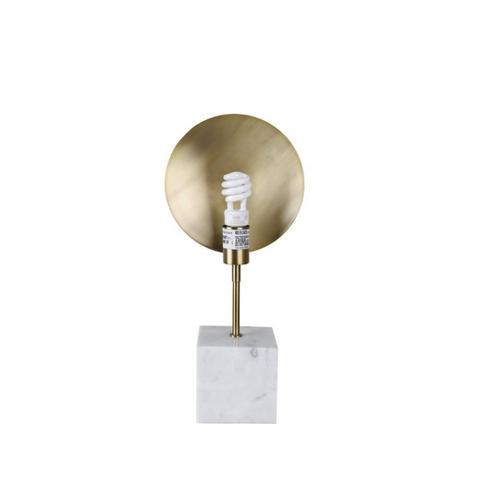 White Marble Edison Bulb Lamp