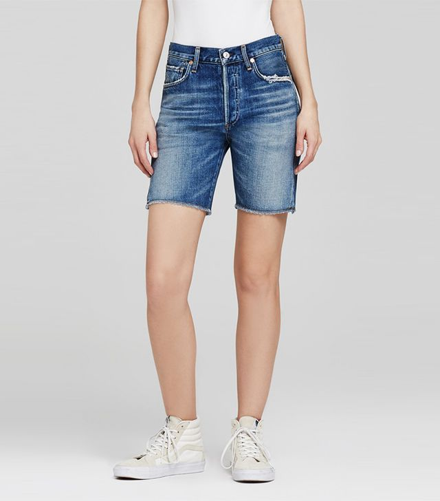 citizens of humanity jean bermuda shorts