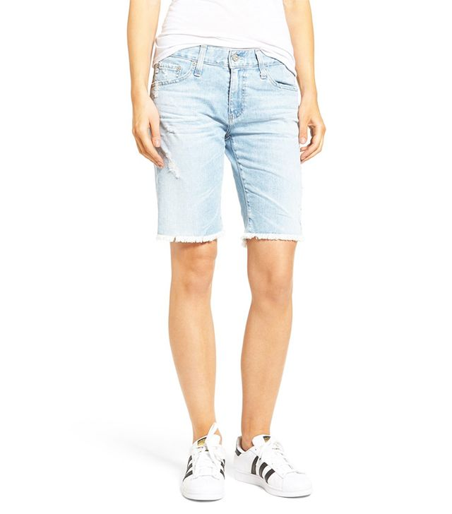 ag bermuda denim shorts