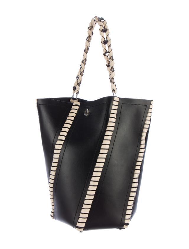 Proenza Schouler Large Hex Whipstitch Bucket Bag