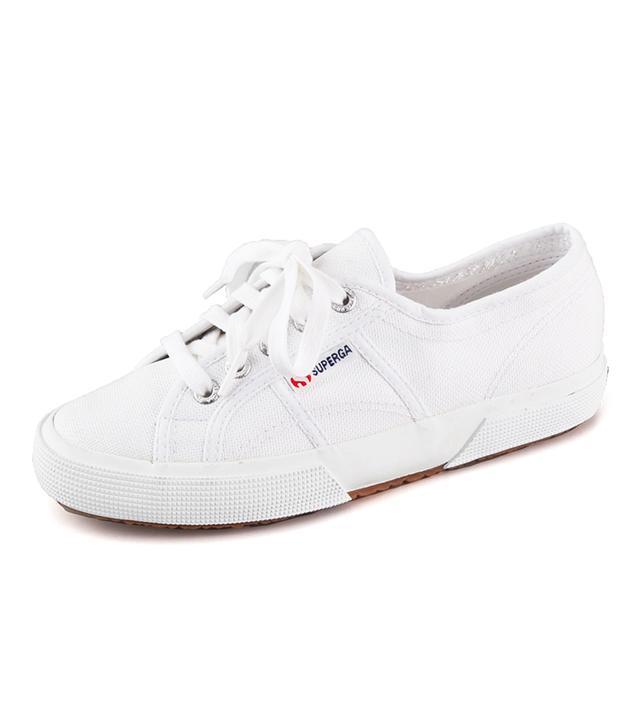 best white sneakers- superga 2750 Cotu Classic Sneakers