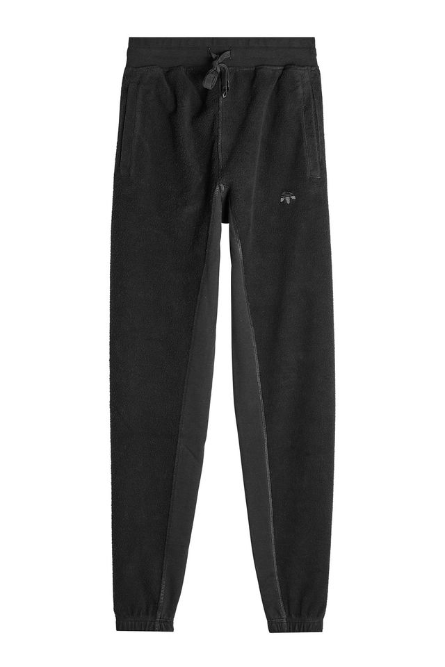 black sweatpants - Adidas Originals by Alexander Wang Cotton Sweatpants