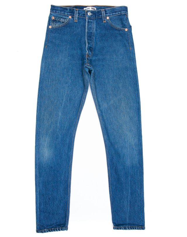 high rise vintage Levi's - Re/Done High Rise Jeans