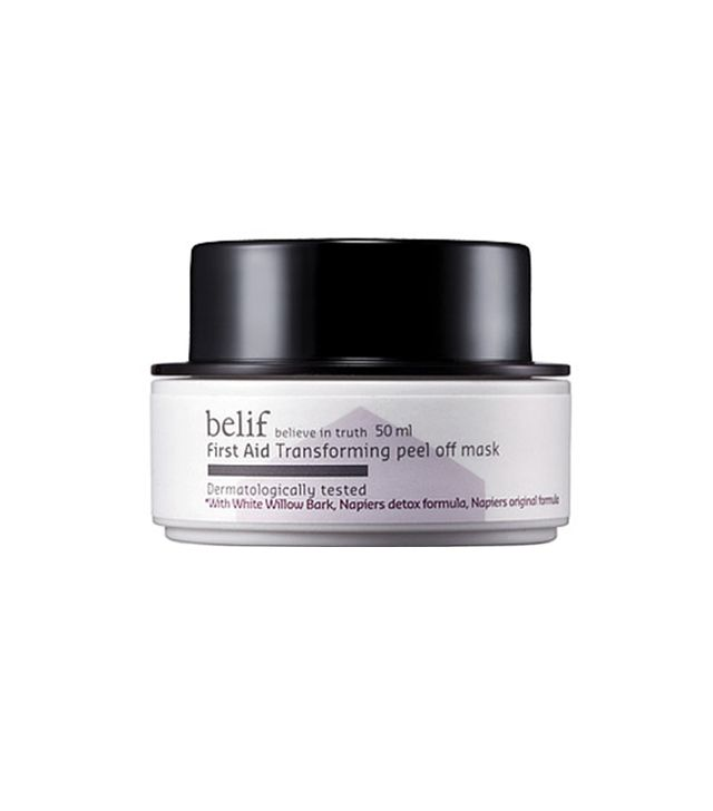 Belif First Aid – Transforming peel off Mask - best peel-off masks
