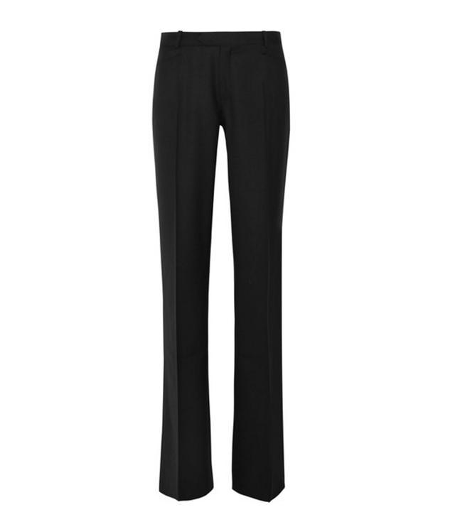 Joseph Rocker Super 100 Wool Wide-Leg Pants