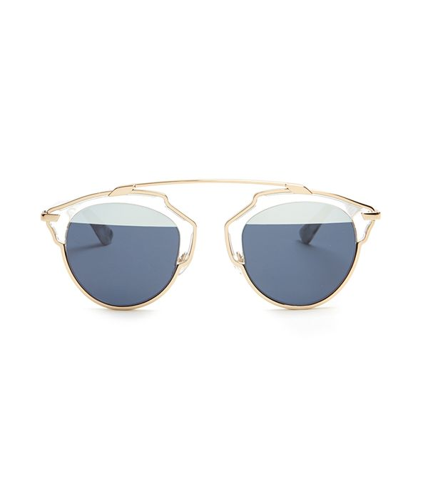 best tinted sunglasses - Dior So Real Bi-Color Sunglasses