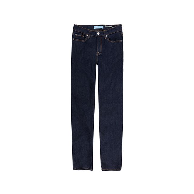 7 for All Mankind B(air) Denim Ankle Skinny in Rinsed Indigo