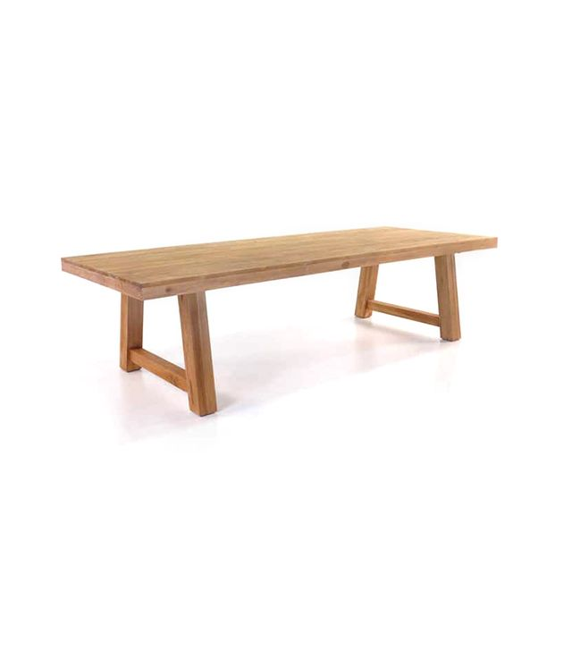 Teak Warehouse Blok Reclaimed Teak Outdoor Dining Tables