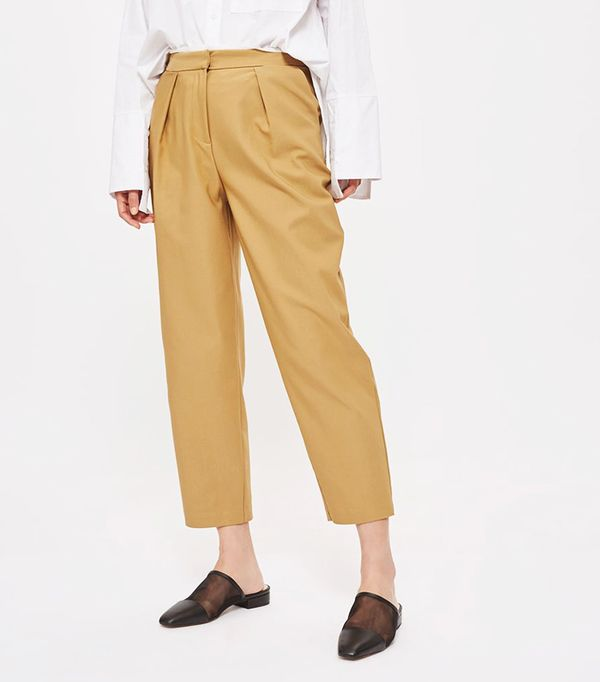 Topshop Chino Style Peg Trousers