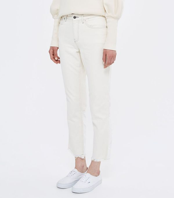 Topshop Contrast Panel Jeans by Boutique