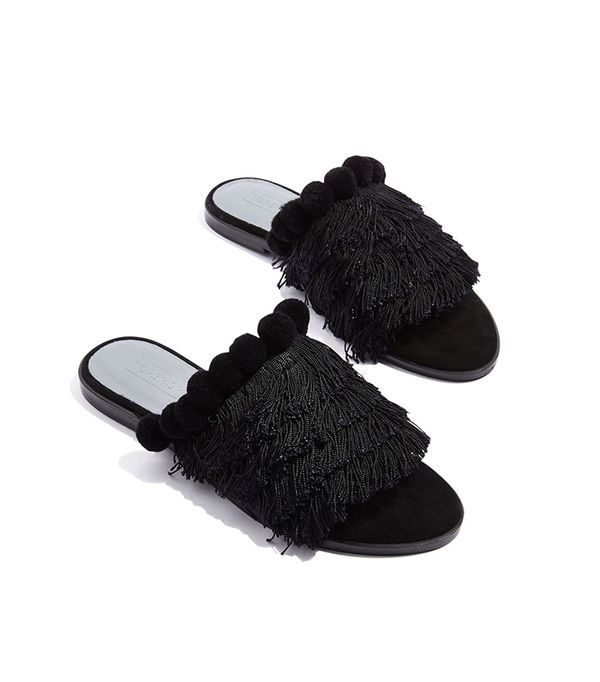Topshop Felicity Fringe Shoes