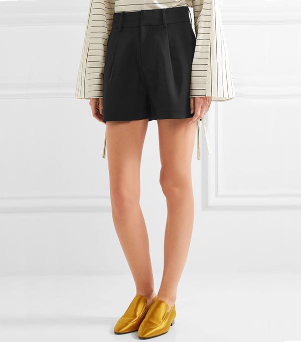 Totême Durum Crepe Shorts