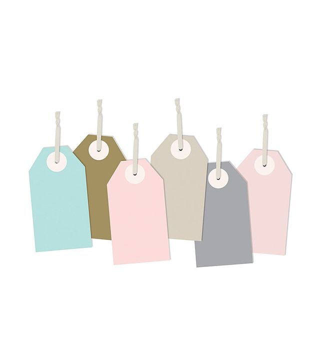 The Gift Wrap Company Paper Strung Gift Tags