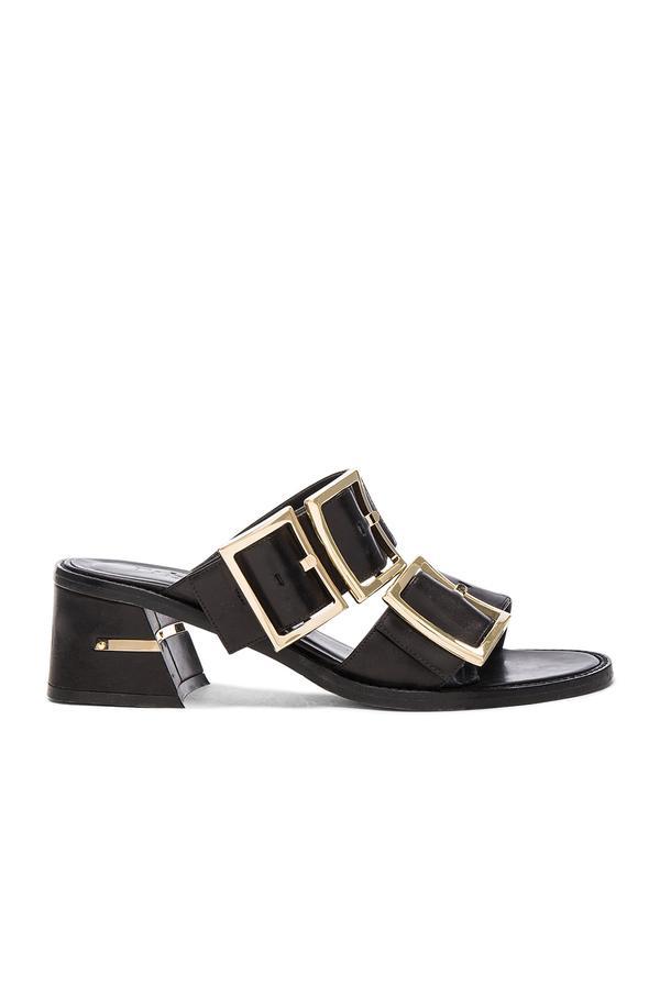 Tibi Leather Kari Sandals