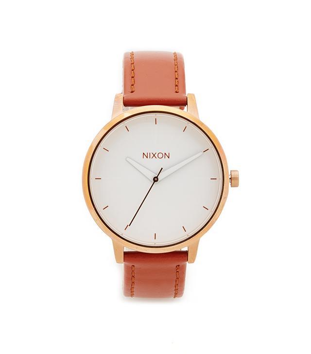 best affordable leather watch nixon kensington