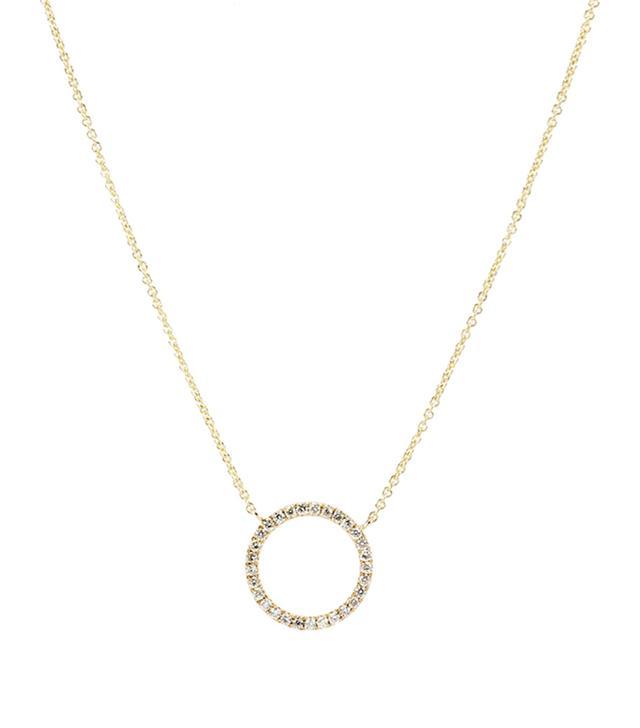 best diamond pendant necklace- sydney evan