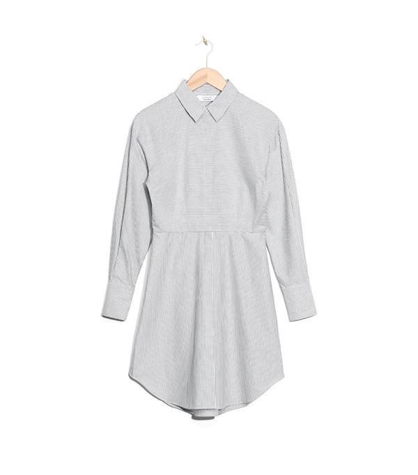 most flattering shirtdress- & Other Stories Striped Shirt Dress