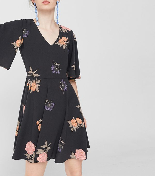 best affordable floral print dress
